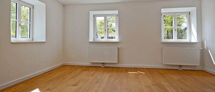 empty apartment unit